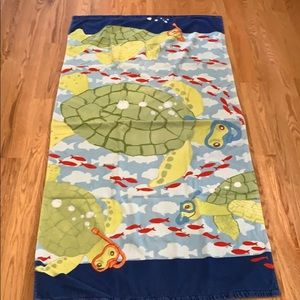 Pottery Barn Kids Boys Beach Towel